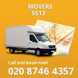 Lewisham removals in SE13