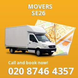 Sydenham removals in SE26