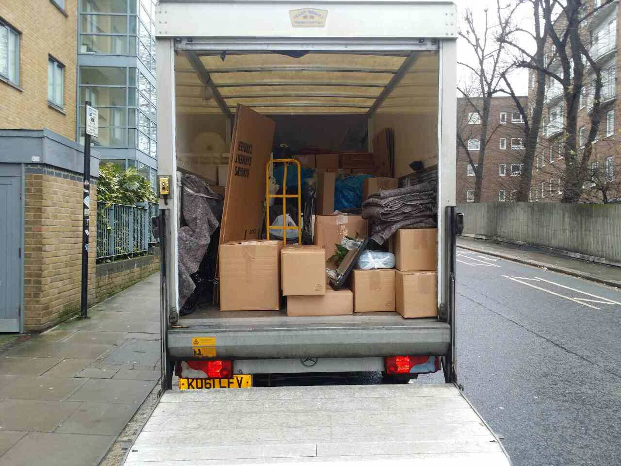 Blackfriars  removals EC4