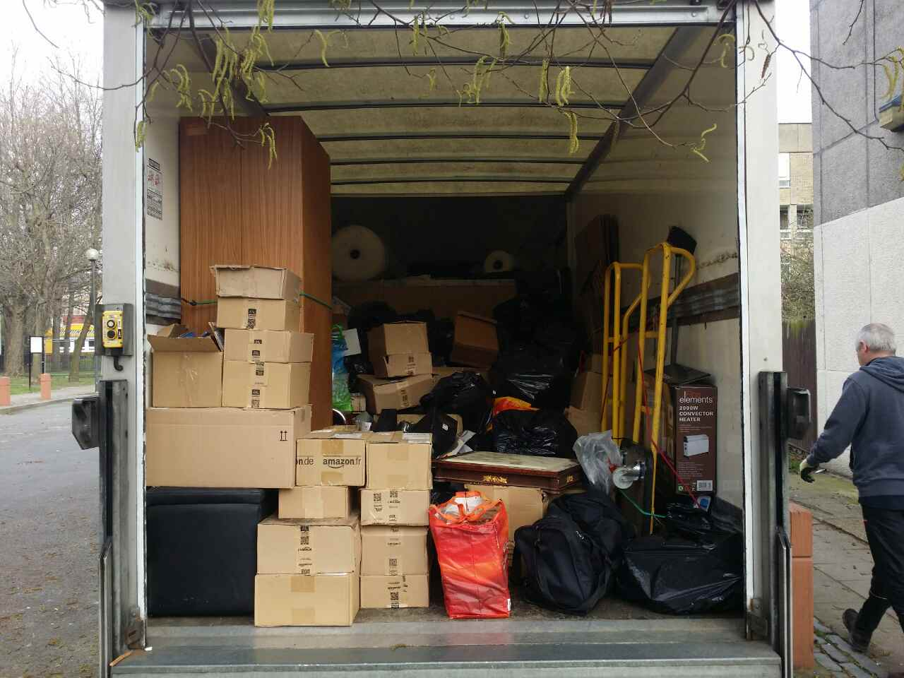 Hackney movers services