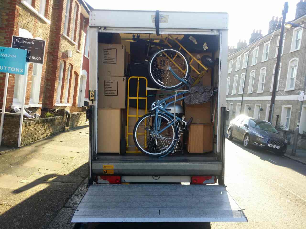 Fitzrovia movers services
