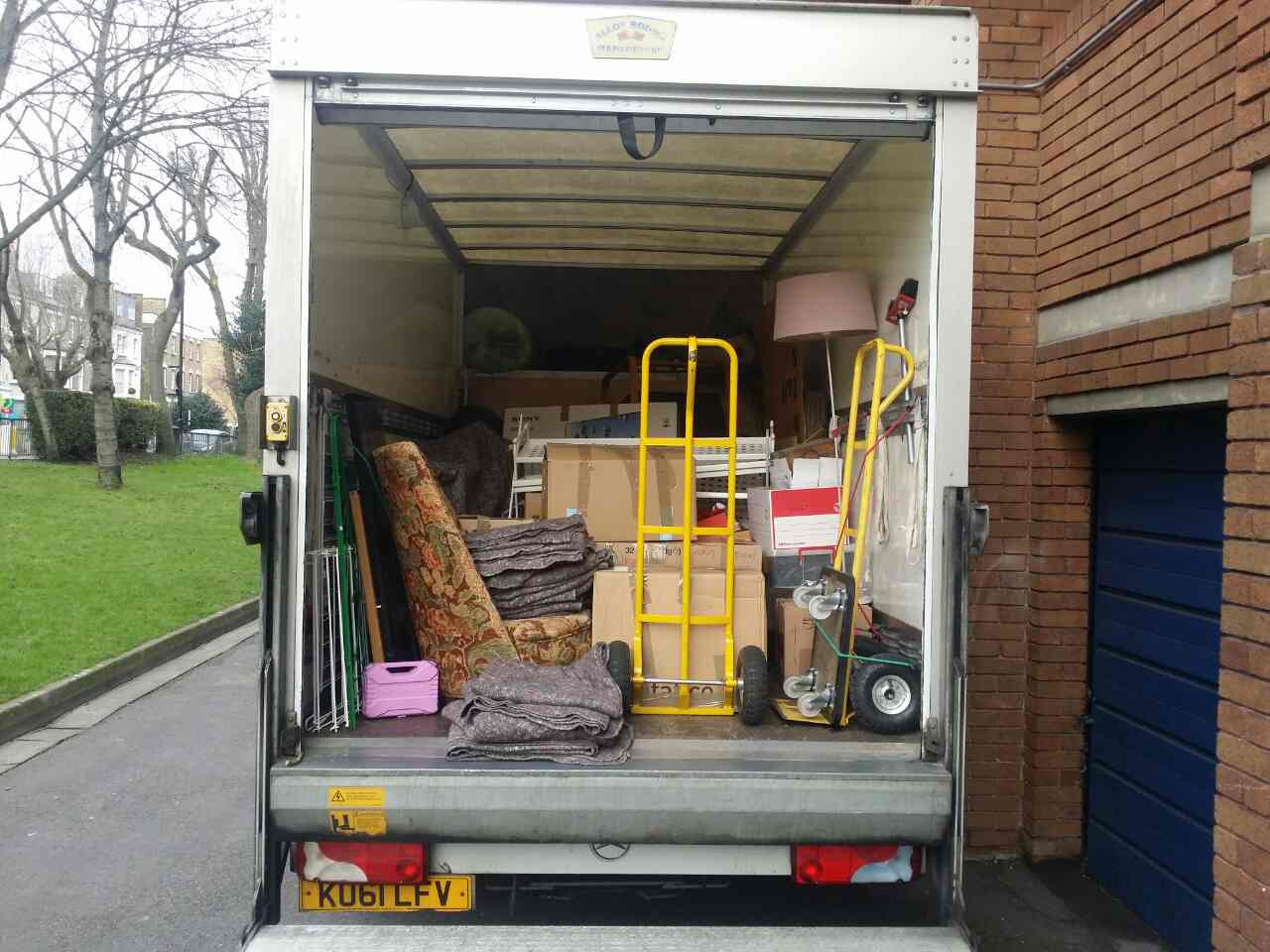 W1 removals Park Lane