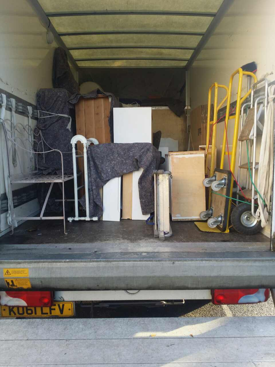 E5 removals Upper Clapton