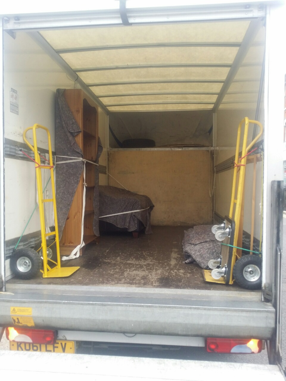 EC1 removals Clerkenwell